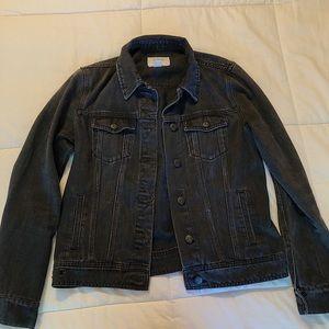 Jackets & Blazers - Black Demin Jacket